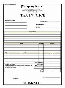 invoice template excel south africa invoice example With south african invoice template
