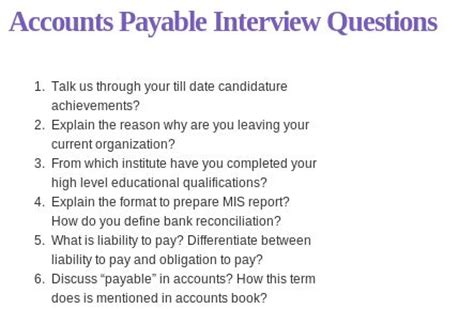 Questions To Ask In An For Accounts Payable Position by The 25 Best Accounting Questions Ideas On