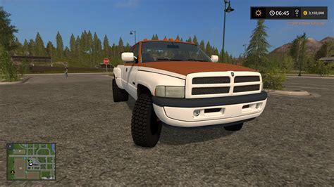 dodge ram work truck   fs  farming simulator