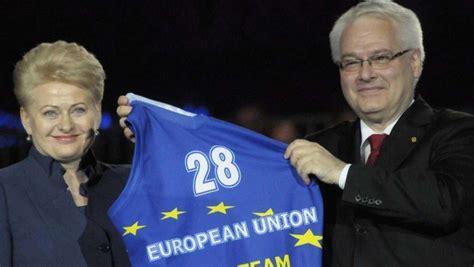 Ingresso Croazia Ue La Croazia 232 Entrata A Far Parte Dell Unione Europea 232 Il