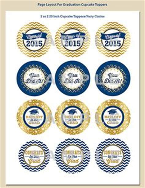 Cover Template College Graduation2015 2016 by Red Graduation Cupcake Toppers Printable 2016 By