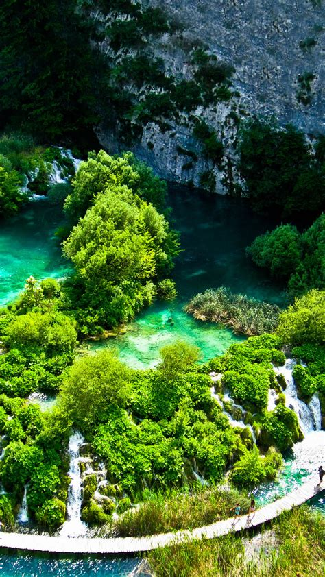 Beautiful Nature Hd Wallpaper For Mobile by Beautiful Nature Wallpaper For Mobile Plitvice Lakes