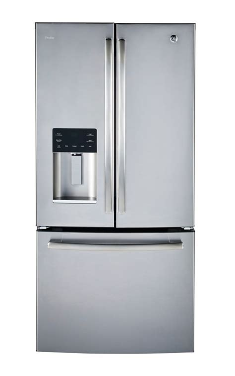 ge profile  cuft counter depth french door refrigerator stainless steel  home depot
