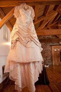 rustic barn venue with classic wedding dress onewedcom With barn dresses wedding