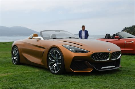 first live photos of bmw concept z4 at pebble
