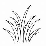 Grass Clipart Coloring Printable Internet sketch template
