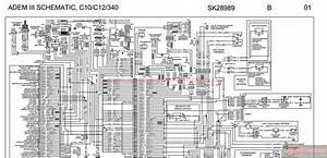Peterbilt - Adem Iii Schematic  C10  C12  U0026 340 - Sk28989
