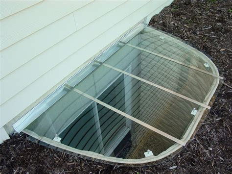 Basement Window Well Covers Dryer Vent For Dryer Vent