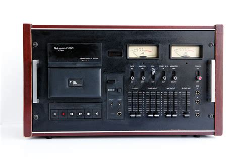 Nakamichi 1000 Cassette Deck by Nakamichi 1000 3 Cassette Deck Tri Tracer