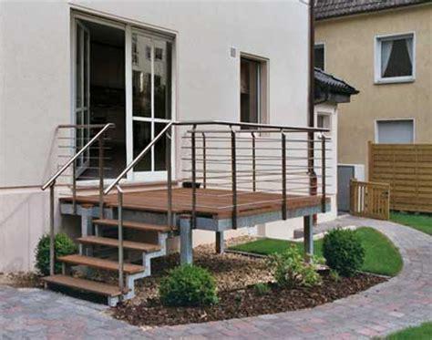 terrasse mit treppe map edelstahlgestaltung und metallbau