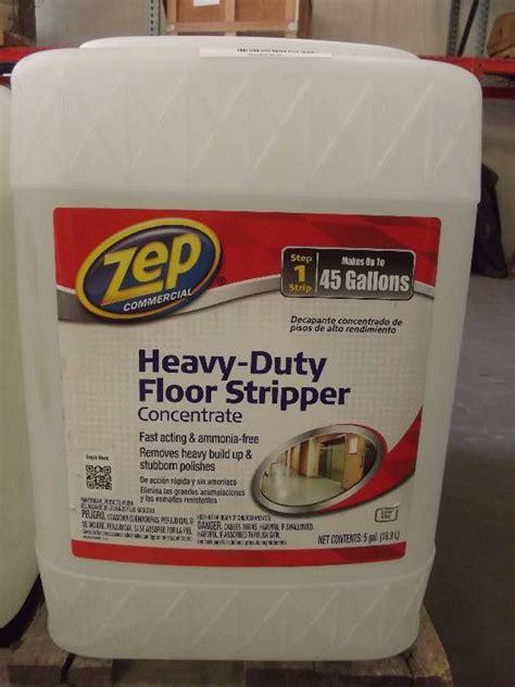 zep heavy duty floor stripper als april sale equip bid