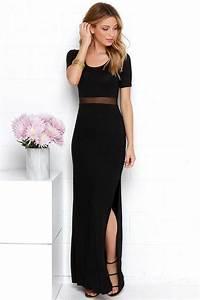 1001 idees de tenue feminine avec robe longue noire With robe longue de journée