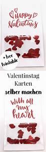 Diy Geschenke Für Den Freund : karten selbst gestalten valentinstag karte selber machen happy dings diy tipps pinterest ~ Frokenaadalensverden.com Haus und Dekorationen