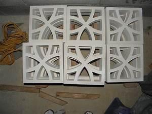 Claustra Beton Blanc : claustra en beton ~ Melissatoandfro.com Idées de Décoration