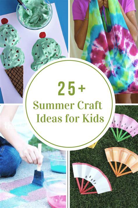creative summer crafts  kids    fun