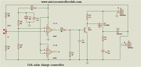 Ampere Solar Charge Controller Without Microcontroller