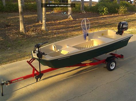 Jon Boat Package by 2013 Jon Boat Fishing Package