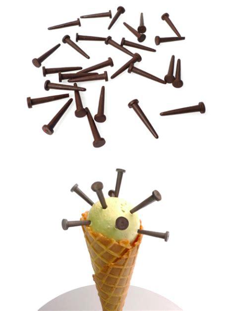 stephane bureaux obsessivecompulsive chocolate nails from stéphane bureaux