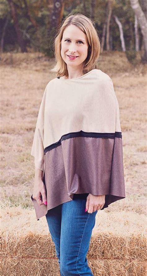 asymmetrical knit poncho pattern allfreesewingcom
