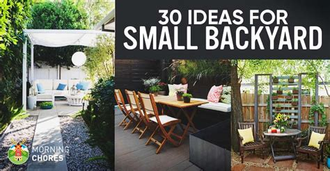 garden ideas for small backyards 30 small backyard ideas that will make your backyard look big