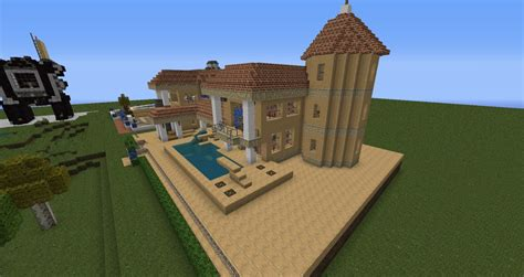 Moderne Häuser Technik moderne villa mit redstone technik minecraft project