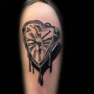 53 Amazing Melting Clock Tattoo Ideas & Designs About ...