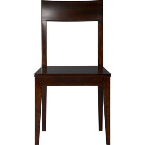 cabria wood dining chair in dining chairs crate and