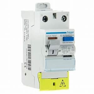 Interrupteur Differentiel Hager 63a Type Ac : interrupteur diff rentiel hager 63a 30ma type a cda765f ~ Edinachiropracticcenter.com Idées de Décoration