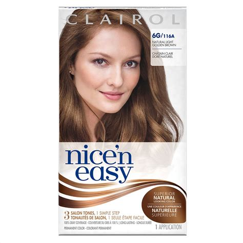 6g hair color clairol n easy root touch up 6g kit