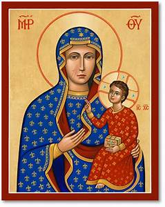 Blessed Virgin Mary Icons: Our Lady of Czestochowa Icon