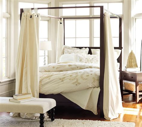 Bed Drapes - cool home creations the look for less canopy bed