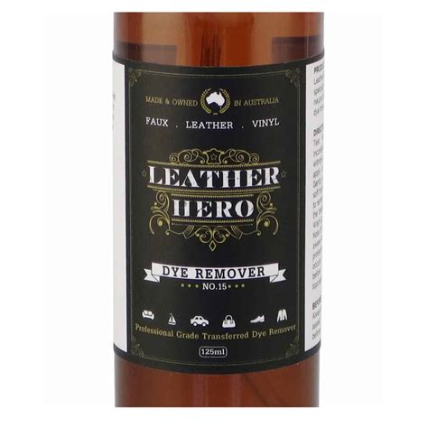 Leather Stain Removal by Leather Transferred Dye Stain Remover Leather