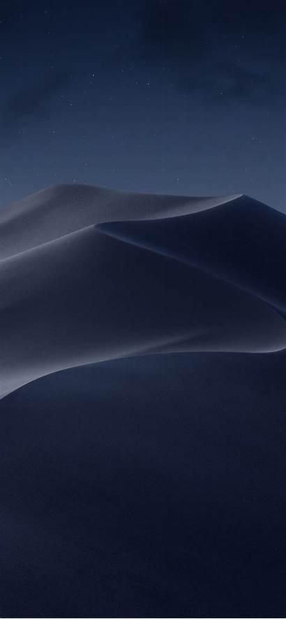 Iphone Desert Night Dune Mojave Stars Xs