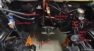 Rebuilding A 1967 Chevy Camaro Part 3  Engine Bay Wiring