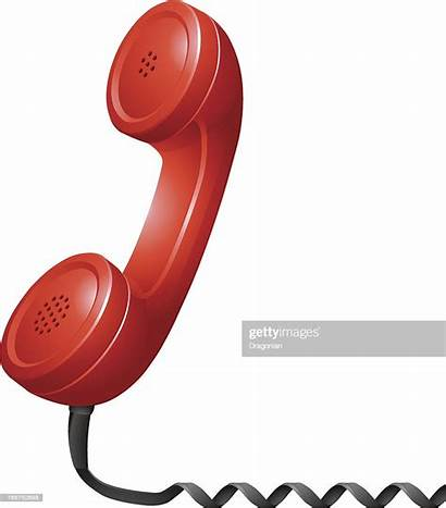 Phone Receiver Telephone Sign Vector Illustrations Embed