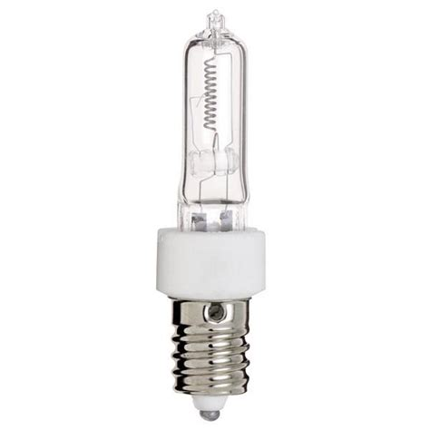 satco s3491 100w 120v e14 base halogen light bulb