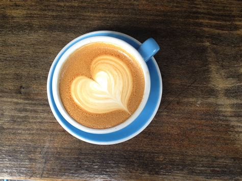 So we're going to start off by doing the heart. Creative coffee! How to make a latte heart design at home - TODAY.com