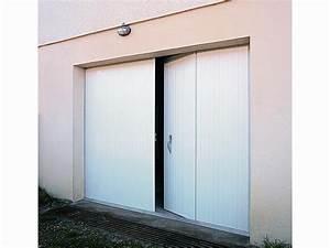 Porte De Garage Pliante À La Française 4 Vantaux : portes de garage traditionnelles ~ Nature-et-papiers.com Idées de Décoration