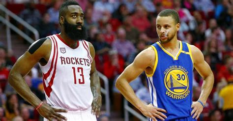 Rockets' James Harden, Warriors' Stephen Curry team up for ...