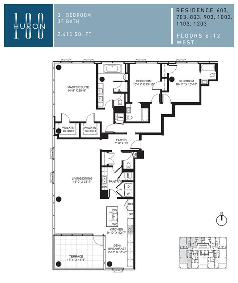 floor plans chicago a look at 100 w huron floor plans 100 w huron condos for sale