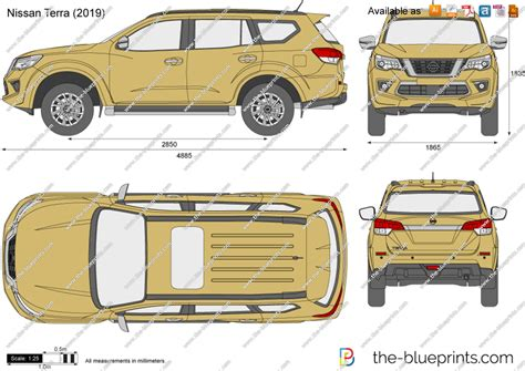 Nissan Terra Backgrounds by Nissan Terra Vector Drawing