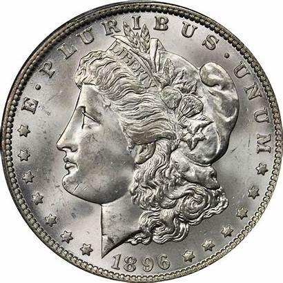 Dollar 1896 Silver Value Morgan Coins Rare