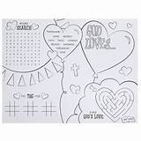 Lobby Hobby God Crafts Coloring Paper Hobbylobby Silhouette Machine Heart sketch template