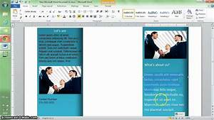 how to get a brochure template on microsoft word 4 With how to get a brochure template on microsoft word