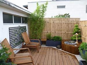 Balkon Sichtschutz Diy : bambus als balkon sichtschutz ideen mit pflanzen matten und stangen ~ Whattoseeinmadrid.com Haus und Dekorationen