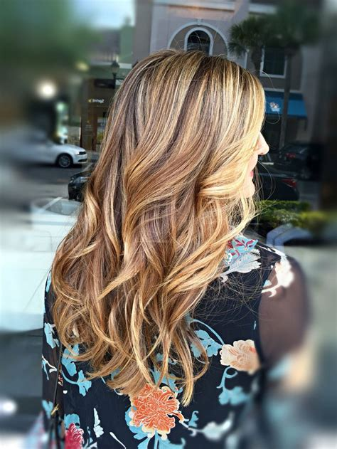 Rich Brown Hair With Caramel Highlights by Rich With Honey And Caramel Highlights