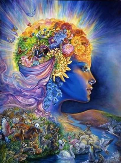 Mother Ayahuasca Vision Quest Goddess Earth Wall
