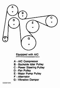 1987 Jeep Comanche Serpentine Belt Routing And Timing Belt Diagrams