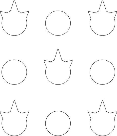 printable unicorn template   fabulous marsha website