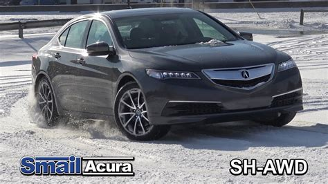 super handling all wheel drive system smail acura in